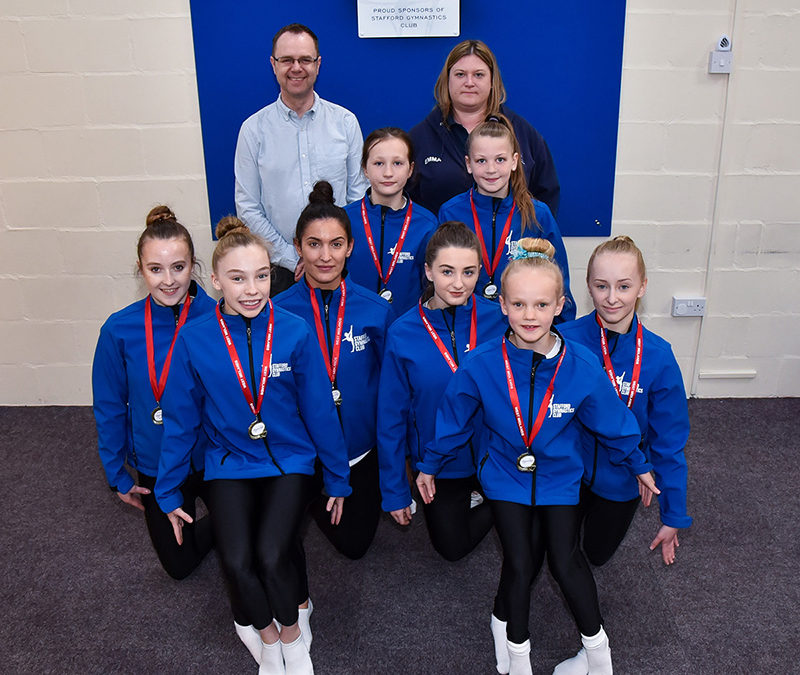 Stafford gymnasts prepare for national finals