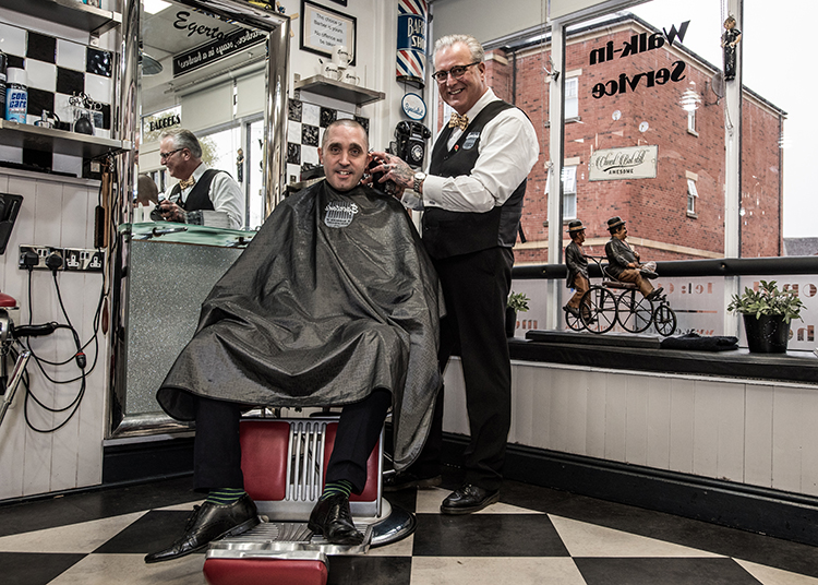Howards helps local barber stay a cut above