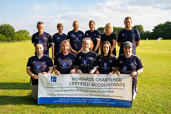 Howards' Cricket Club Sponsorship Gives a Boost to Kids in Care