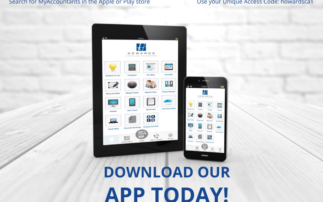 The New Howards App for Business on the Go