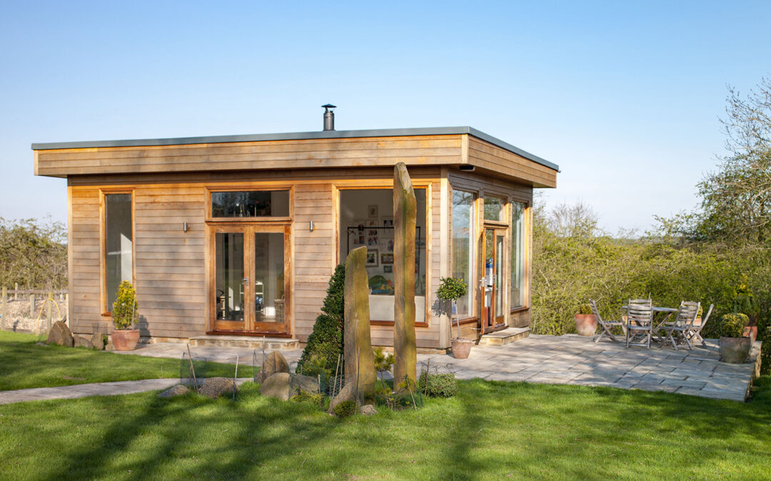 Can my limited company pay for a garden office?